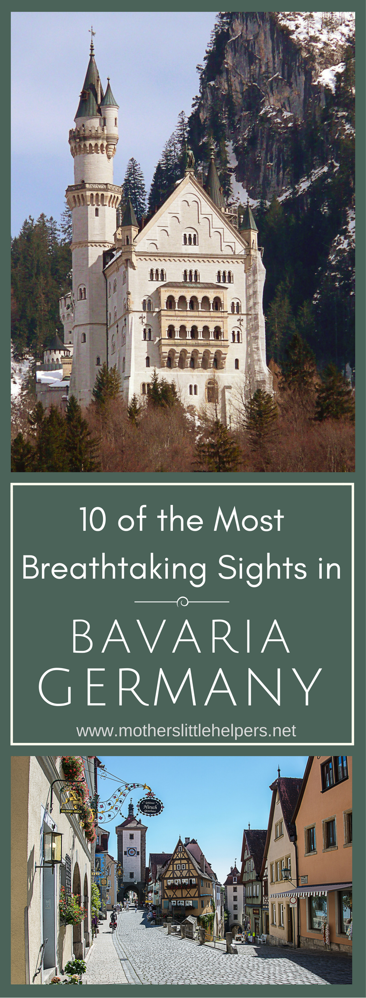 10 of the Most Breathtaking Sights in Bavaria, Germany | Travel Destinations in Germany | Central Europe | Germany | European Travel Destinations | German Castles | The Alps