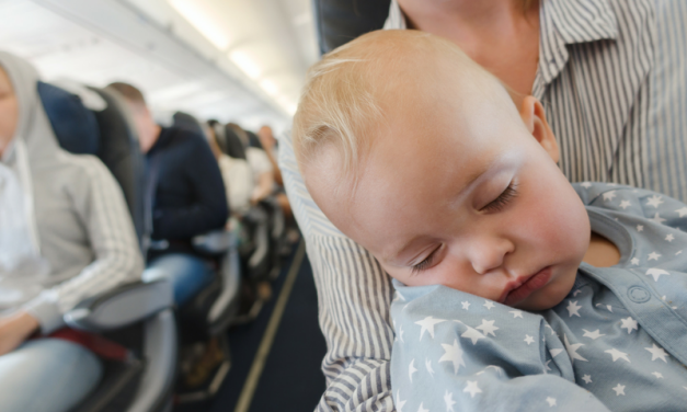 How to Make the Best of an Overseas Flight with Babies