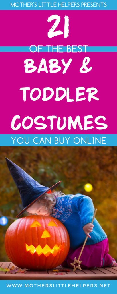 21 of the Best Baby and Toddler Costumes You Can Buy Online | With Halloween right around the corner, it's usually our job as a mommy to decide what to do about costumes for our little ones. Need some help deciding? | boy | girls | infants | cute | Families | Twin | funny | creative | newborns | easy | dress up | costumes | halloween |