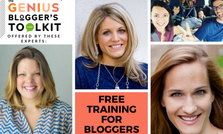 FREE Training for Bloggers – The Genius Bloggers' Secrets Webinar Series