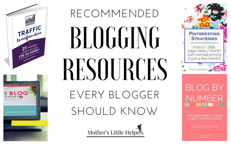 Recommended Blogging Resources Every Blogger Should Know