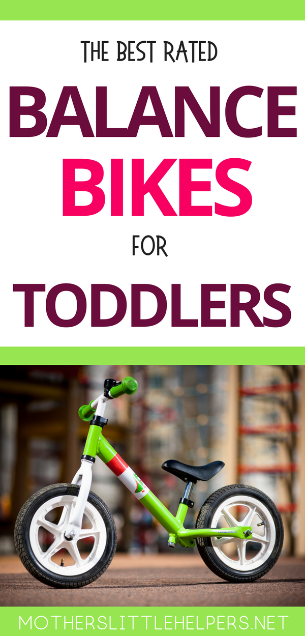 THE BEST RATED BALANCE BIKE FOR TODDLERS – trying to decide which strider bike to buy your toddler? Here you'll find the best toddler bike that your child will love and will last a long time. Glider bikes help your toddler balance so that they have an easier time when learning to ride a kids bike. Motherslittlehelpers.net #striderbike #balacebike #gliderbike #toddlerbike