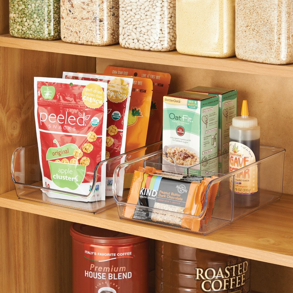 ways to organize food cabinets
