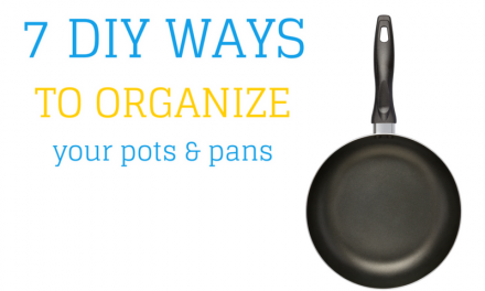 7 DIY Ways to Organize Pots and Pans in Your Kitchen Cabinets