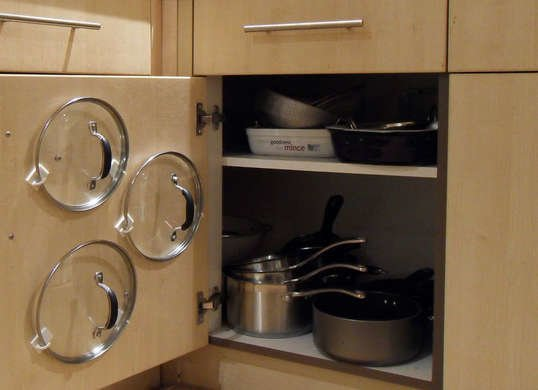 Diy Frying Pan Storage