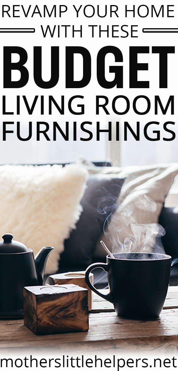 Check out these beautiful budget living room furnishings!  I love these inexpensive living room furnishings that don't look cheap.  Use some or all of these ideas to refresh your living room and make it look more expensive.