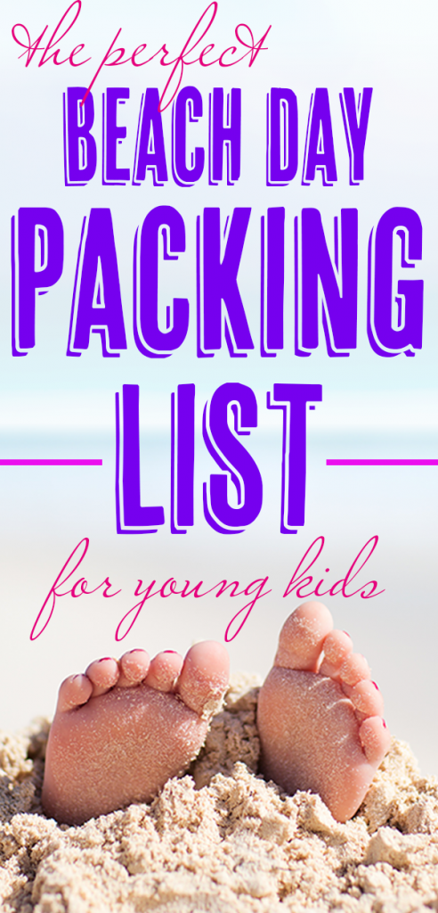 A PERFECT BEACH DAY PACKING LIST - Planning is key to having a perfect day at the beach with young kids. Make sure you have everything you need by creating a beach day packing list. Here's a basic list of what you need to bring to the beach with small children. You don't want to pack to much, but you don't want to miss any toddler beach essentials. #beach #beachpackinglist #beachessentials #toddlerpackinglist #toddleratthebeach #perfectbeachday motherslittlehelpers.net
